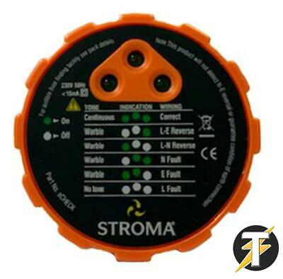 Socket & See / STROMA SOK22 ScHECK Craftsman 13 AMP Socket Tester - UK VERSION • 16£