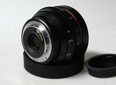 AU508.83 • Buy Customized Canon 50 1.8 Ef Mount For Canon 5d BMCC BMPCC SONY A7S II