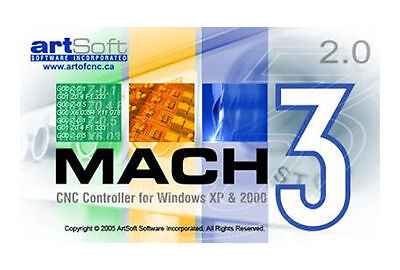 $174.99 • Buy Fully Licensed Mach3 CNC Software By Artsoft! Fast Delivery