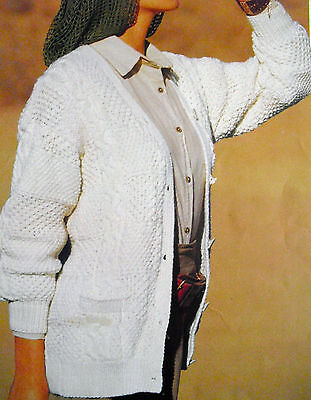 Knitting/sewing & Crochet Patterns Ladies Sweaters Cardigans, Jackets Tops Bags • 2.59£