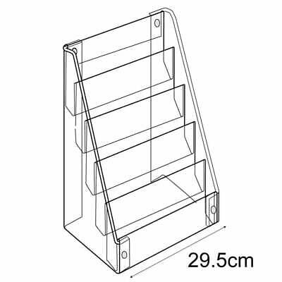 £46.10 • Buy Acrylic Standard Card Display Stand Retail/Shop POS Point Of Sale Counter/Wall