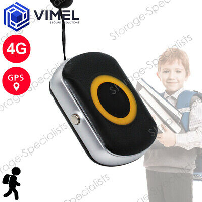 AU179.95 • Buy 4G Personal Real Time GPS Tracker Kids Elderly Waterproof Portable SOS Button