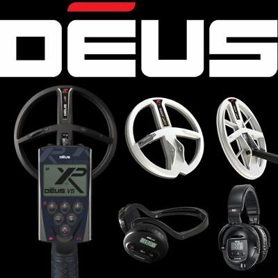 XP Deus Metal Detector - FREE UK Delivery (WS4, WS5, 9 ,11  X35 Coil Options) • 769£