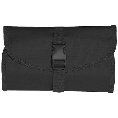 £13.95 • Buy British Army Tactical Foldable Compact Wash Bag With Hanging Hook & Mirror Black
