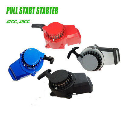 AU18.99 • Buy Alloy Pull Start Starter Pocket Bike Mini Dirt Atv Quad 50cc 49cc 47cc 2 Stroke