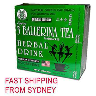 AU29.50 • Buy 3 Boxes Ballerina Tea Slimming Or Weight Loss Tea