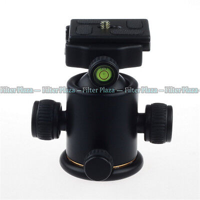 $ CDN28.80 • Buy 8KG 360° Swivel Panoramic Ball Head + Quick Release Plate For Tripod DSLR Camera