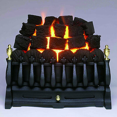 20 Electric Fire Replacement Coals Bio Lpg & Real Flame Gas Fires • 10.50£
