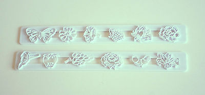 Garden Tappit, Flowers And Fruit - Sugarcraft, Cake Decorating, Cutters, Fondant • 2.20£