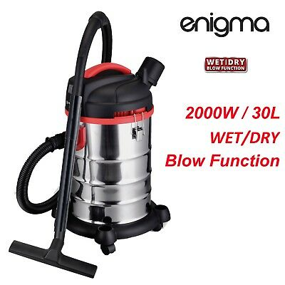 AU129.99 • Buy New 2000W 30L Wet & Dry Vacuum Cleaner And Blower Commercial Bagless Free Post