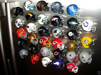 $5.99 • Buy Nfl Helmet Refrigerator Magnets