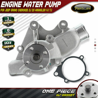 AU44.50 • Buy Water Pump For Jeep Grand Cherokee ZJ ZG 4.0L Wrangler YJ/TJ 2.5L/4.0L W/ Gasket