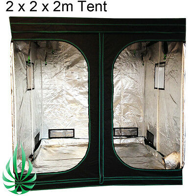 AU312 • Buy HARVEMAX Hydroponics Large Grow Tent 2x2x2m Metal Corner Connector View Windows