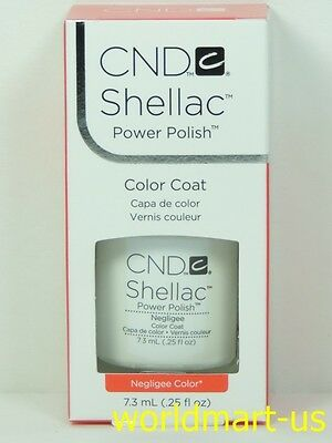 AU18.85 • Buy CND Shellac GelColor UV/LED #40502_Negligee 0.25fl.Oz