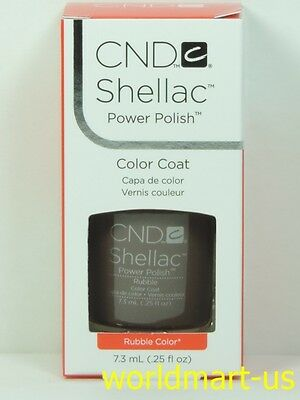 AU18.85 • Buy CND Shellac GelColor UV/LED #40534_Rubble 0.25fl.Oz