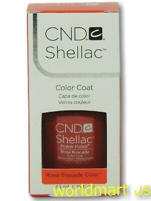 AU18.85 • Buy CND Shellac GelColor UV/LED #90622_ Rose Brocade 0.25fl.Oz