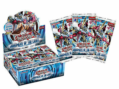 AU3.95 • Buy 1 X Booster Pack Yugioh 9-Card Judgment Of The Light Genuine Sealed English JOTL