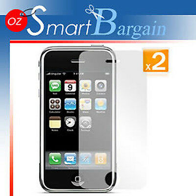 AU4.49 • Buy 2 X ANTI GLARE MATTE SCREEN GUARD PROTECTOR IPhone 3GS