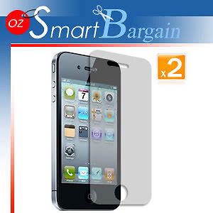 AU4.49 • Buy 2 X ANTI GLARE MATTE SCREEN GUARD PROTECTOR IPhone 4G