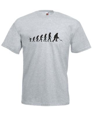 The Evolution Of Ice Hockey, Mens Printed T-Shirt • 9.50£