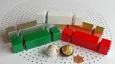 CRACKER - SMALL ~~~ Christmas / Wedding ~~~ Favour Boxes • 7.99£