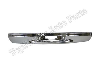 $283.58 • Buy Rear Bumper Chrome For 1997-2003 F150 Flareside Lightning Super Crew Harley