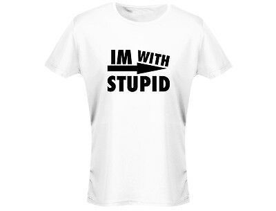 Im With Stupid Womens Funny T-Shirt (12 Colours)  • 4.07£