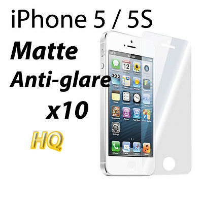 AU4.15 • Buy ANTI-GLARE MATTE LCD FILM SCREEN PROTECTOR FOR Apple IPhone 5 5S