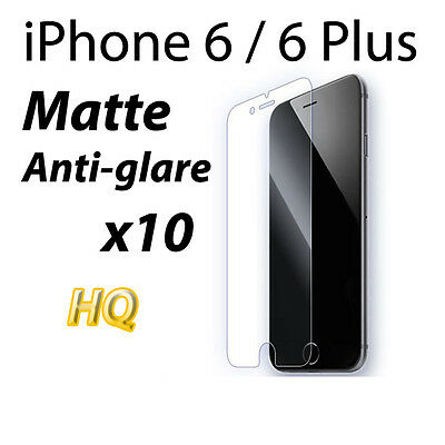 AU4.48 • Buy ANTI-GLARE MATTE LCD FILM SCREEN PROTECTOR FOR Apple IPhone 6 4.7  6 Plus 5.5