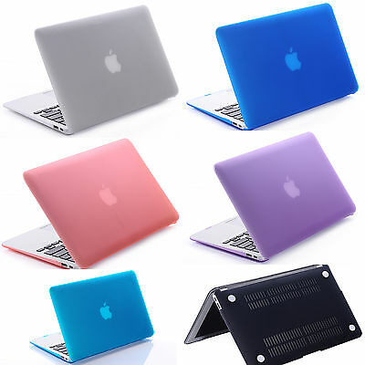 AU19.90 • Buy Satin Hard Case Rubberized Keyboard Cover For Macbook 11  12  13  15  Inch