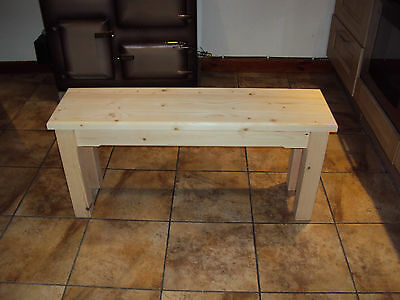 Quality Wooden Handmade Kitchen-Dining-utility  Bench Sturdy And Solid 4FT • 60£