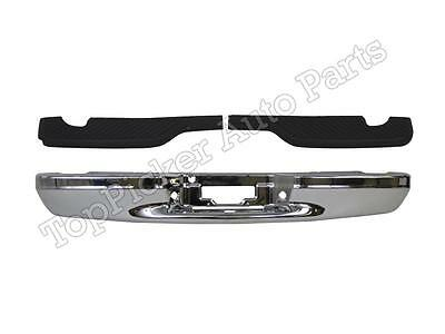 $353.16 • Buy Rear Bumper Face Bar Chrome Step Pad FOR 1997-2003 F150 Flareside Super Crew Cab