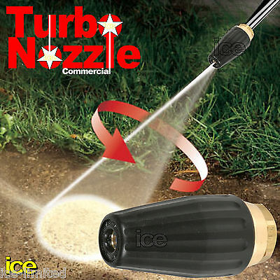 £49.99 • Buy Industrial Commercial Pressure Washer Spinning Rotating Dirtblaster Nozzle 1/4 F