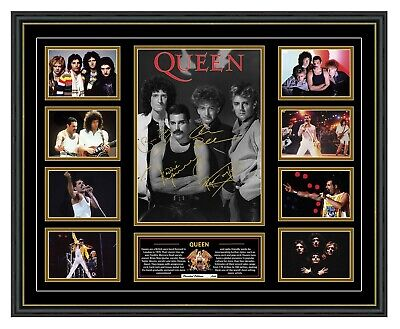 AU80 • Buy Queen Signed Limited Edition Framed Memorabilia