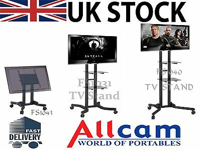 FS10 Series TV Trolley Stands/ Exhibition Display Mount For Plasma/LCD/LED TVs • 124.98£
