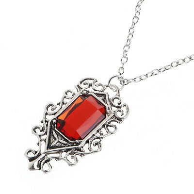Retro The Mortal Instruments City Of Bones Isabelle Lightwood's Ruby Necklace • 2.08£