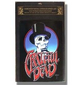 $28.95 • Buy GRATEFUL DEAD 60's Rock Band Embossed Litograph CONCERT TIN POSTER 13  X 18  New