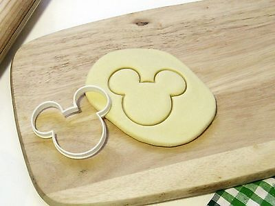 Mickey Mouse Cookie Cutter Cupcake Topper Fondant Gingerbread Cutter • 3.59£