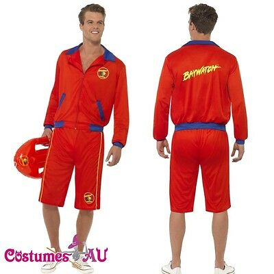 £22.13 • Buy Mens Baywatch Beach Men's Lifeguard Short Jacket Licensed Costume Outfit