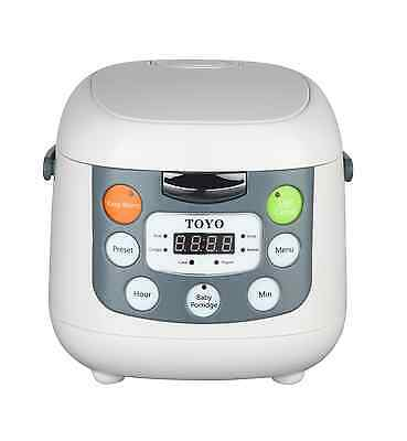 AU75 • Buy TOYO Multi-Function Rice Cooker LCD Display MB-FS20S (4 Cups/2L) (7 Functions)