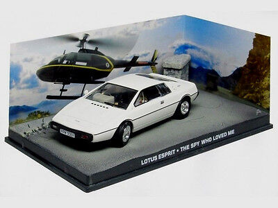 $ CDN28.13 • Buy Wonderful Modelcar Diorama LOTUS ESPRIT - 007  - White - 1/43