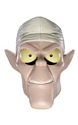 Licensed Adult Mens Dr Coffin Ghost Scooby Doo Halloween Costume Mask • 19.32£