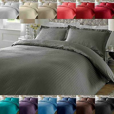 100% Cotton Luxury Duvet Cover Set Pillow Case Bedding Single Double King Size • 25.79£