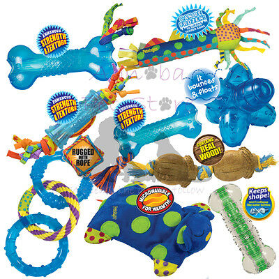 £10.99 • Buy Petstages Chew & Play Toys Teething Aid Ball Rope Puppy Small Dog Mini Cool Chew