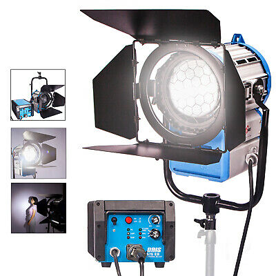 HMI Fresnel 575W Compact Kit Studio Continuous Lighting Dimmable Photo Video TV • 539.99£