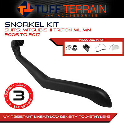 AU129.99 • Buy Snorkel Kit  For Mitsubishi Triton ML MN 06 - On 4x4 4WD Diesel