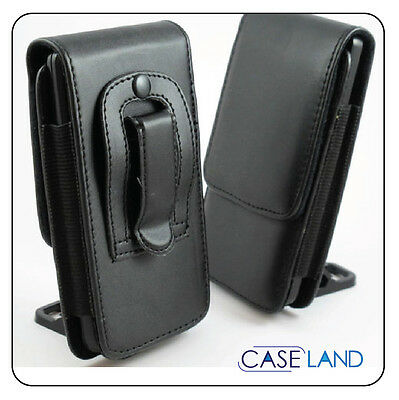 AU13.49 • Buy B2-black Vertical Pu Leather Belt Clip Cover Case Holster For Htc One Mini 2