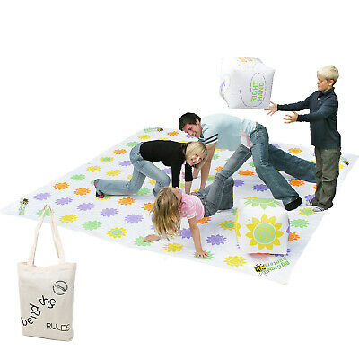 Giant 3m Twister Style Get Knotted Outdoor Toy Garden Game Party Family Fun  • 45.99£