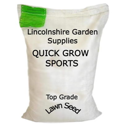 £57.90 • Buy Grass Seed.QUICK GROW SPORTS (Low Maintenance - Quick Recovery Hard Wearing Mix)