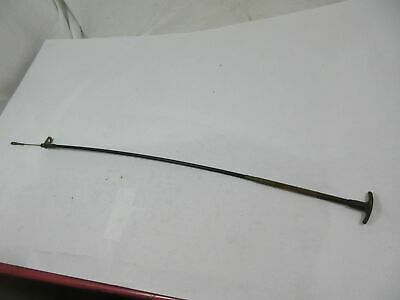 $27.99 • Buy NOS Military Jeep M151 A1 A2 Engine Heat Push-Pull Control Cable 8675947